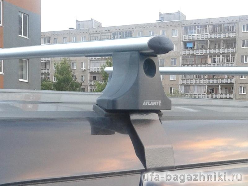 Багажник на крышу Kia Soul 2009-19, Атлант, аэродинамические дуги