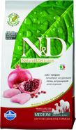 N&D Dog Grain Free Chicken & Pomegranate Adult Mini Курица, гранат. Полнорационный корм для взрослых собак. (2,5 кг)