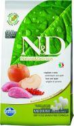 N&D Dog Grain Free Boar & Apple Adult Mini Кабан, яблоко. Мясо кабана, яблоко. Полнорационный корм для взрослых собак. (2,5 кг)