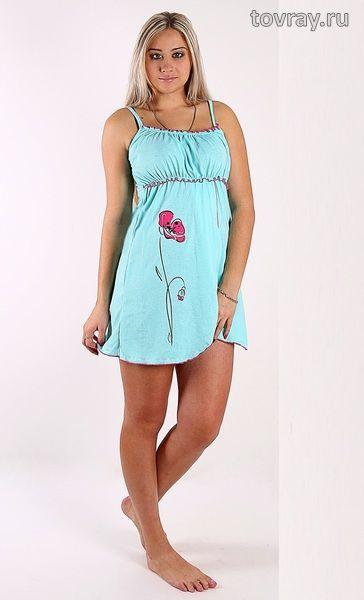 Sale Ночная сорочка Лиловый мак Efri 7А