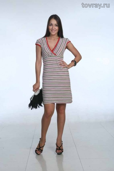 Sale Платье женское на запахе Глория Efri 229 P (MD)