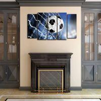 Модульная картина Мяч в воротах