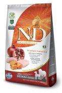 N&D Dog Grain Free Pumpkin Chicken & Pomegranate Medium & Maxi Adult Беззерновой корм для взрослых собак средних и крупных пород Курица/тыква/гранат (2,5 кг)