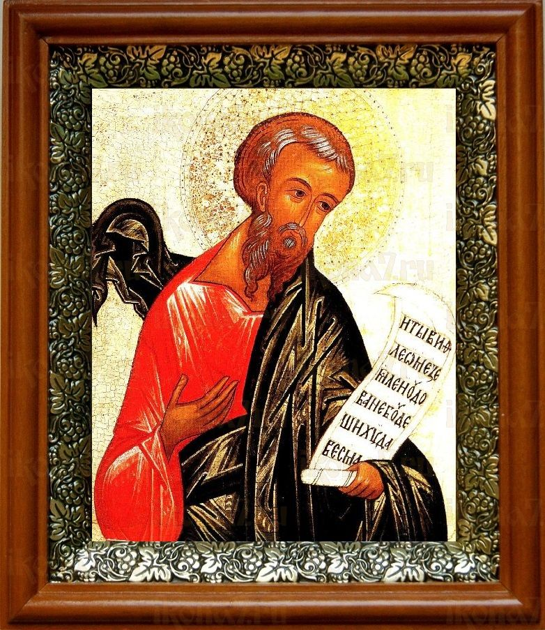 Михей, пророк (19х22), светлый киот