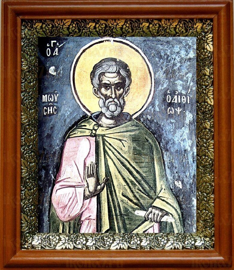 Моисей Мурин (19х22), светлый киот