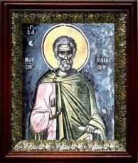 Моисей Мурин (19х22), темный киот