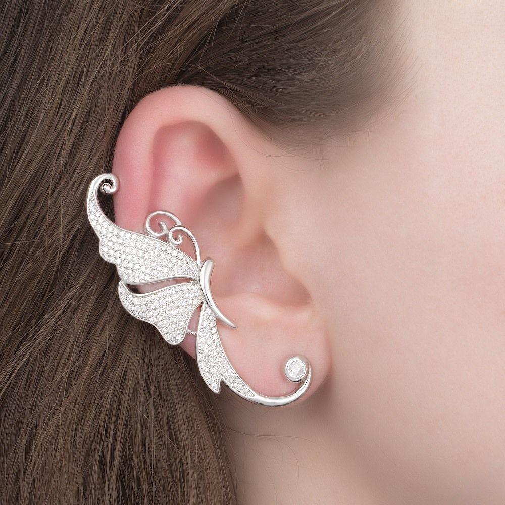 Каффы комплект на 2 уха из серебра 9f0a82852f38c