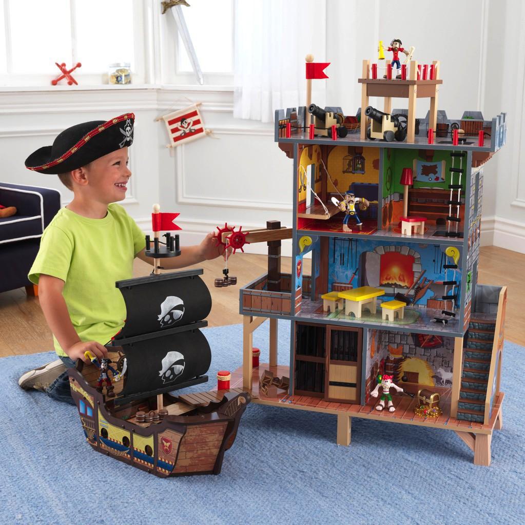Деревянная пиратская крепость Kidkraft 63284