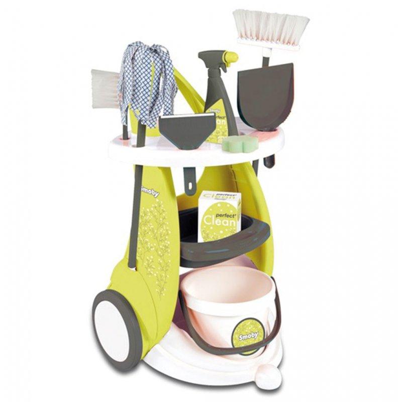 Набор для уборки с тележкой Smoby 24086