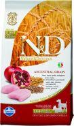 N&D Dog Low Grain Chicken & Pomegranate  Mini Adult Light Низкозерновой корм для взрослых собак мелких  пород склонных к набору лишнего веса  Курица/гранат (800 гр)