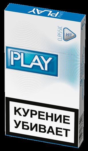 Сигареты Play hit синий