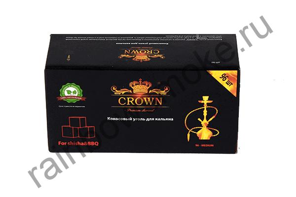 Уголь для кальяна Crown (96 шт)