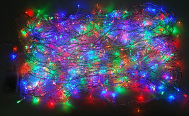 Новогодняя светодиодная гирлянда 400 Led лампочек