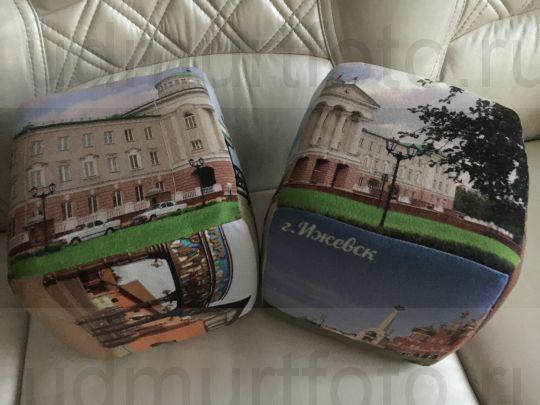 Подушка-куб с видами города Ижевска( цена за 2 шт)