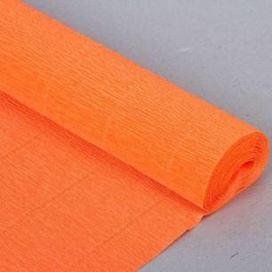 №581 Гофр.бумага (оранжевая)