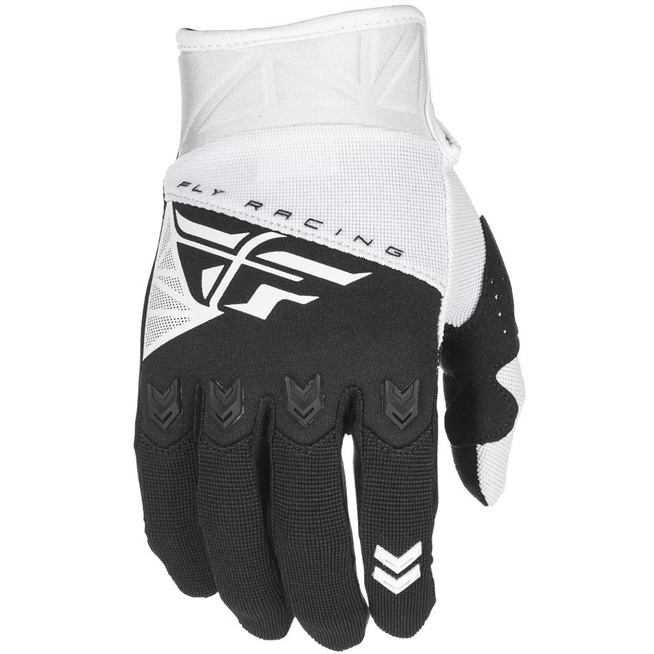 Fly - 2018 F-16 перчатки, бело-черные