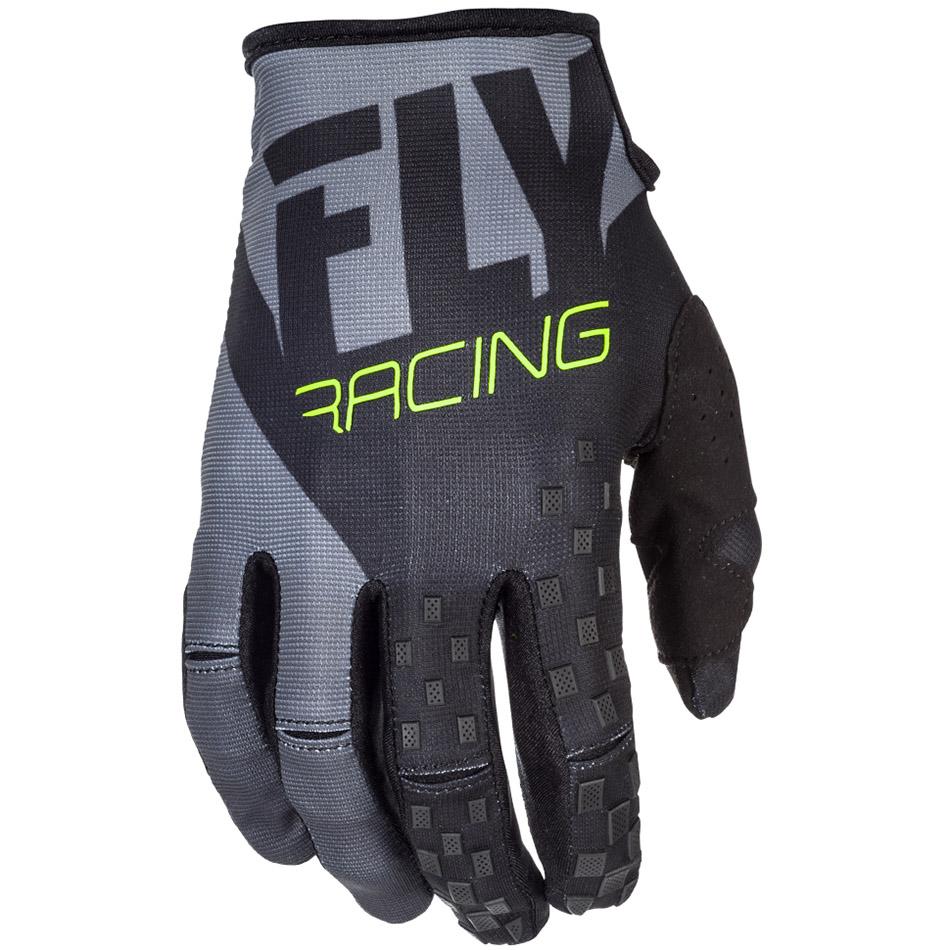 Fly - 2018 Kinetic перчатки, черно-серые