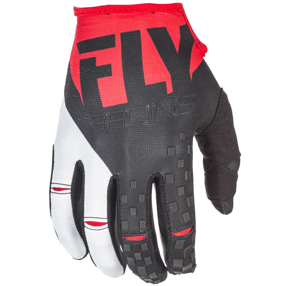 Fly - 2018 Kinetic перчатки, красно-черные