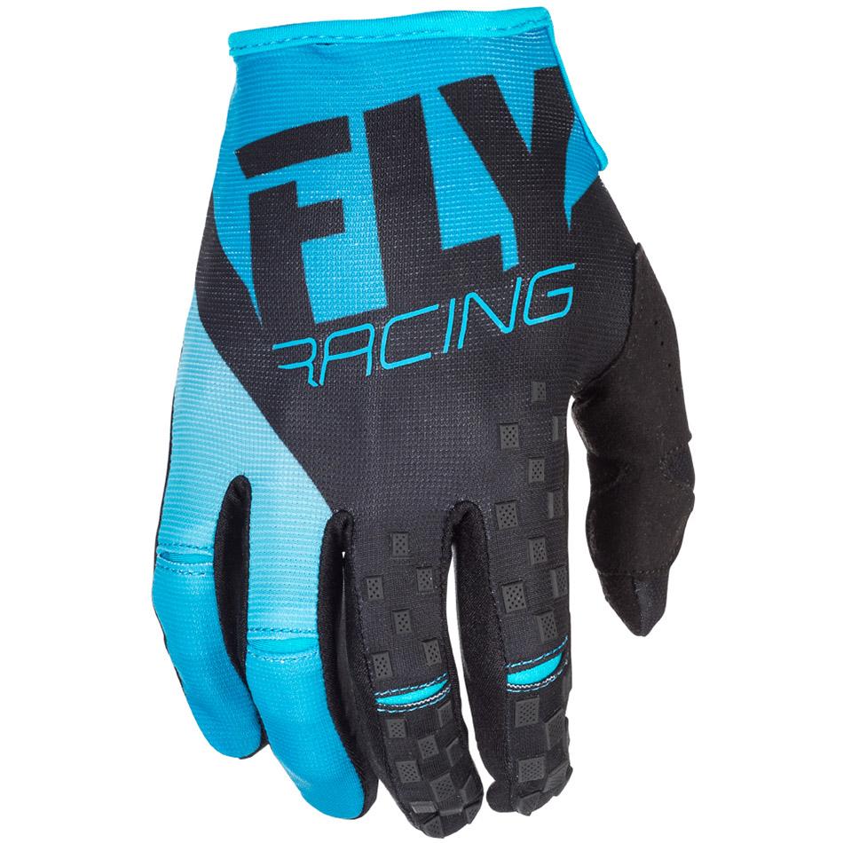 Fly - 2018 Kinetic перчатки, сине-черные