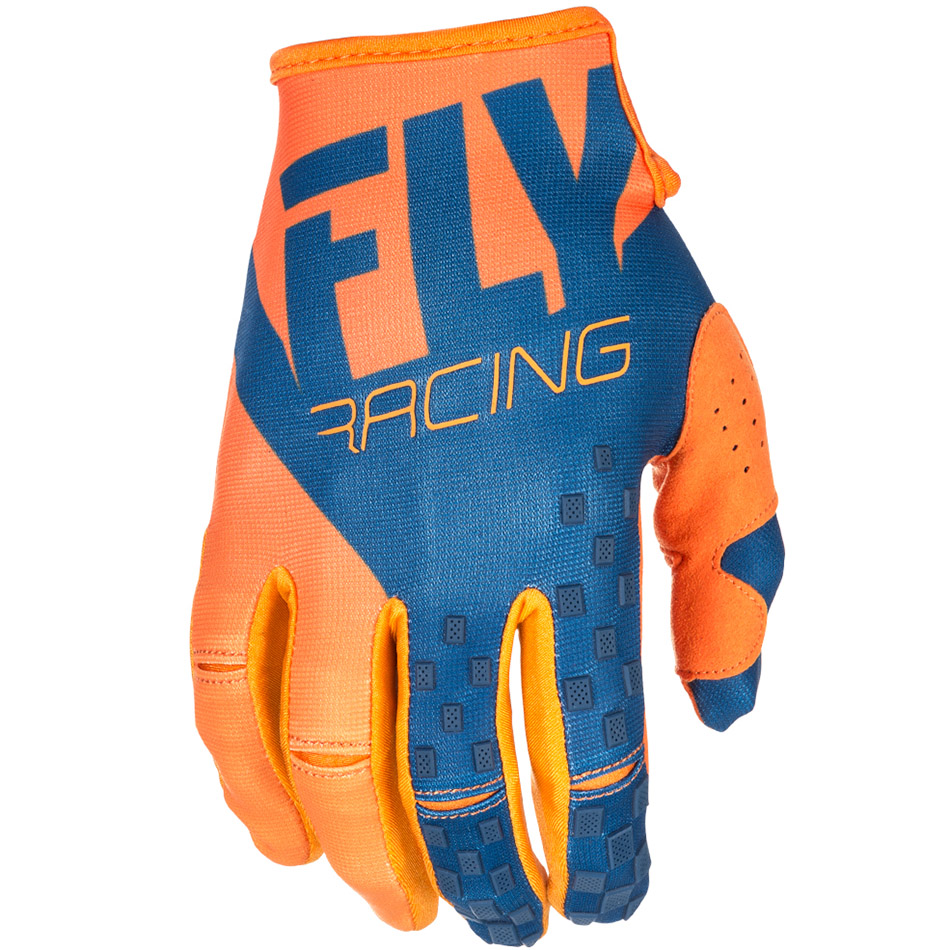 Fly - 2018 Kinetic перчатки, оранжево-синие