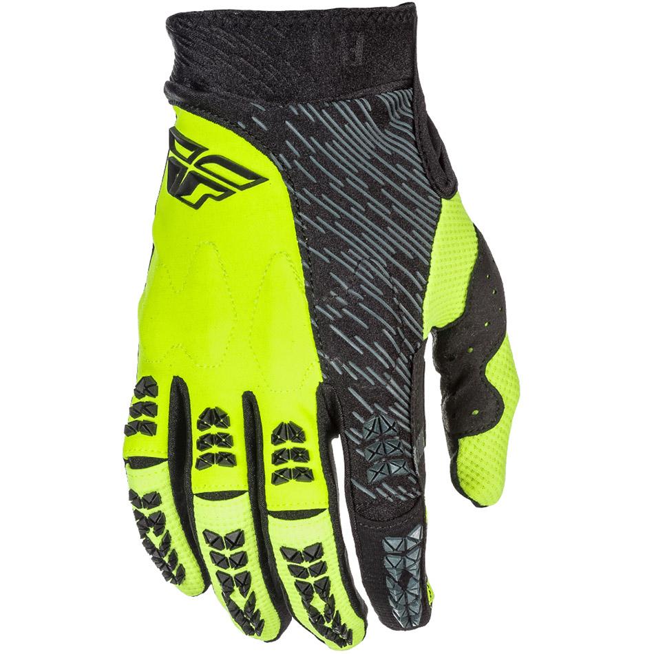 Fly - 2018 Evolution 2.0 перчатки, черные Hi-Vis