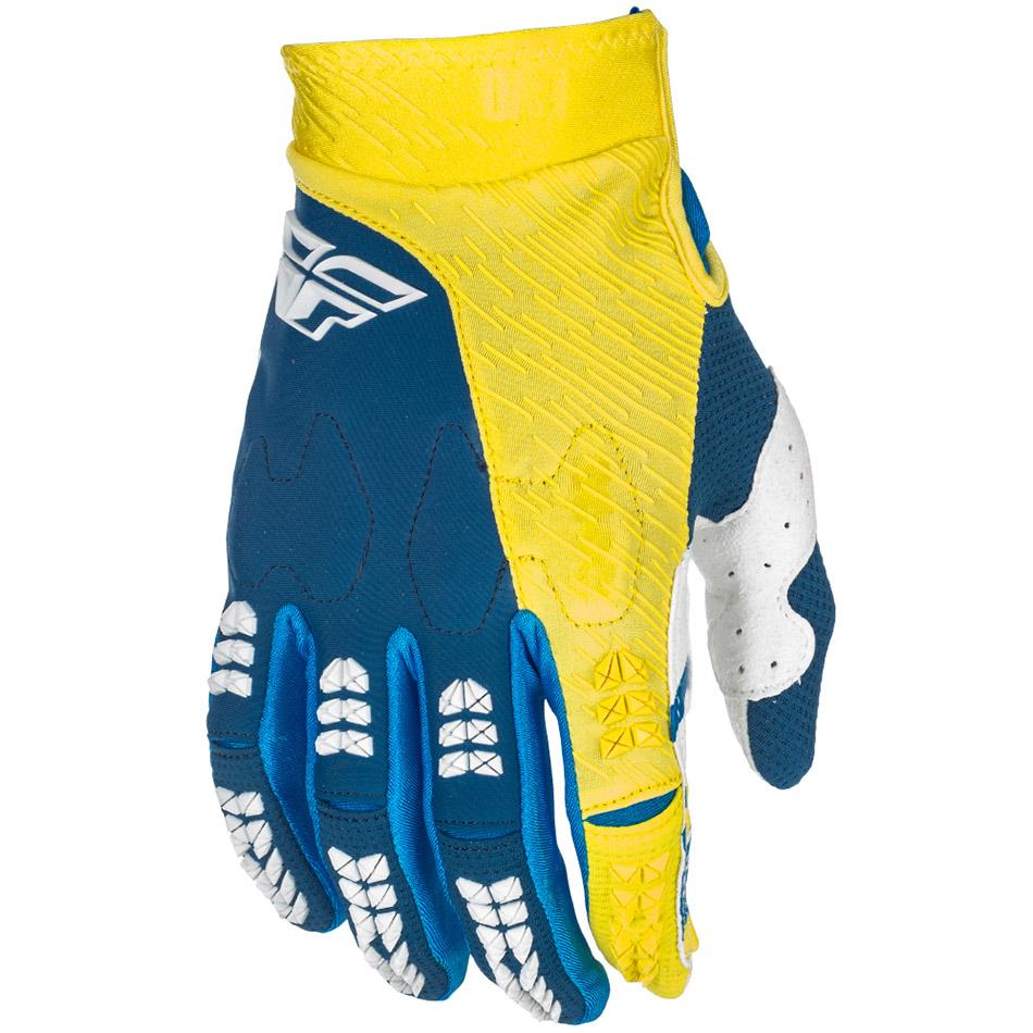 Fly - 2018 Evolution 2.0 перчатки, сине-желто-белые