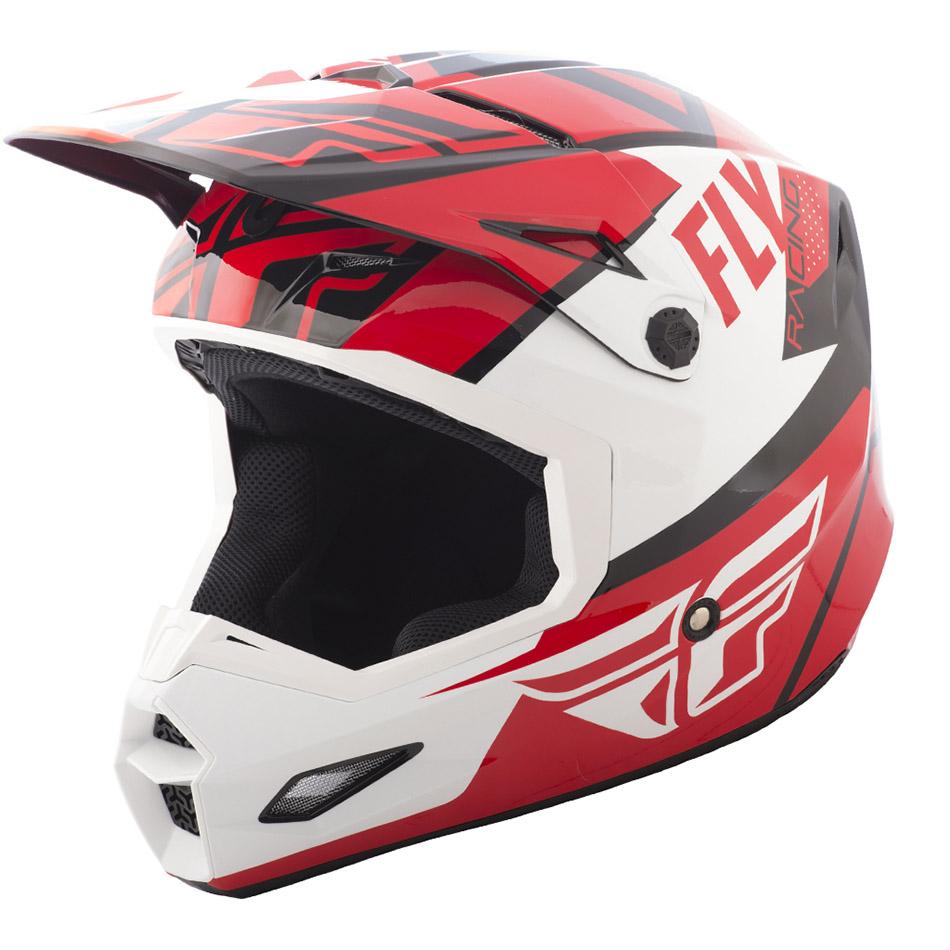 Fly - 2018 Elite Guild шлем, красно-бело-черный