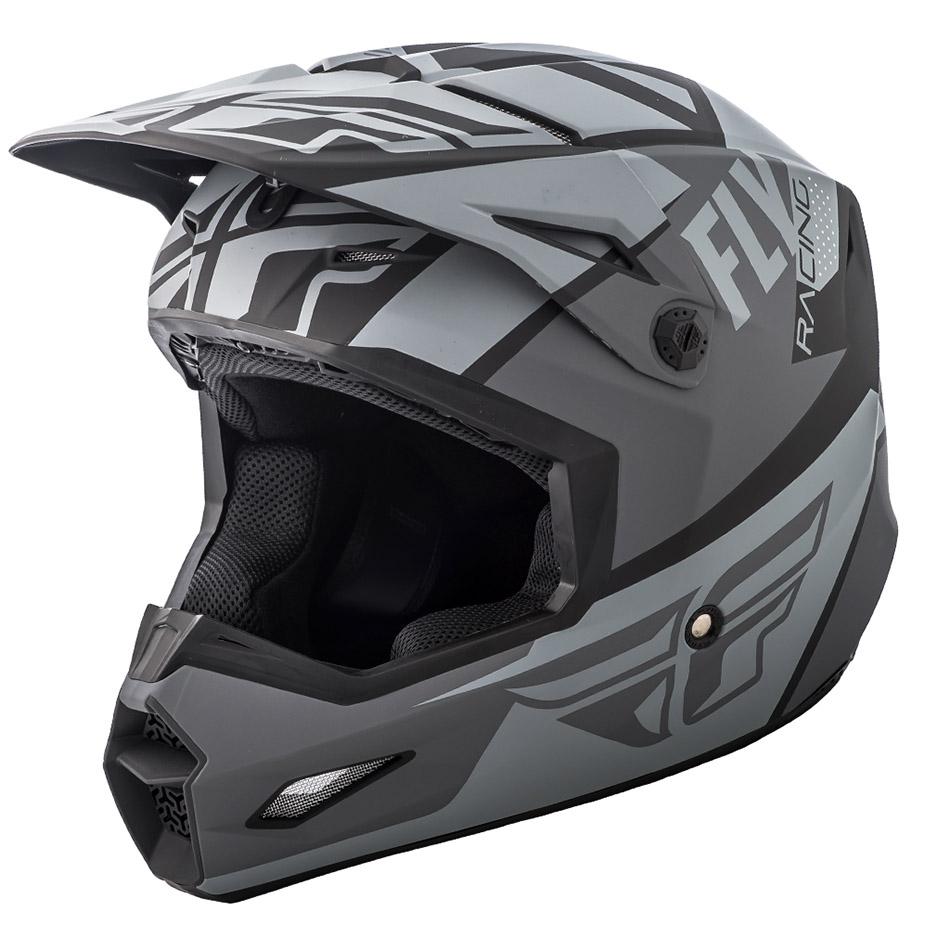 Fly - 2018 Elite Guild шлем, серо-черный матовый