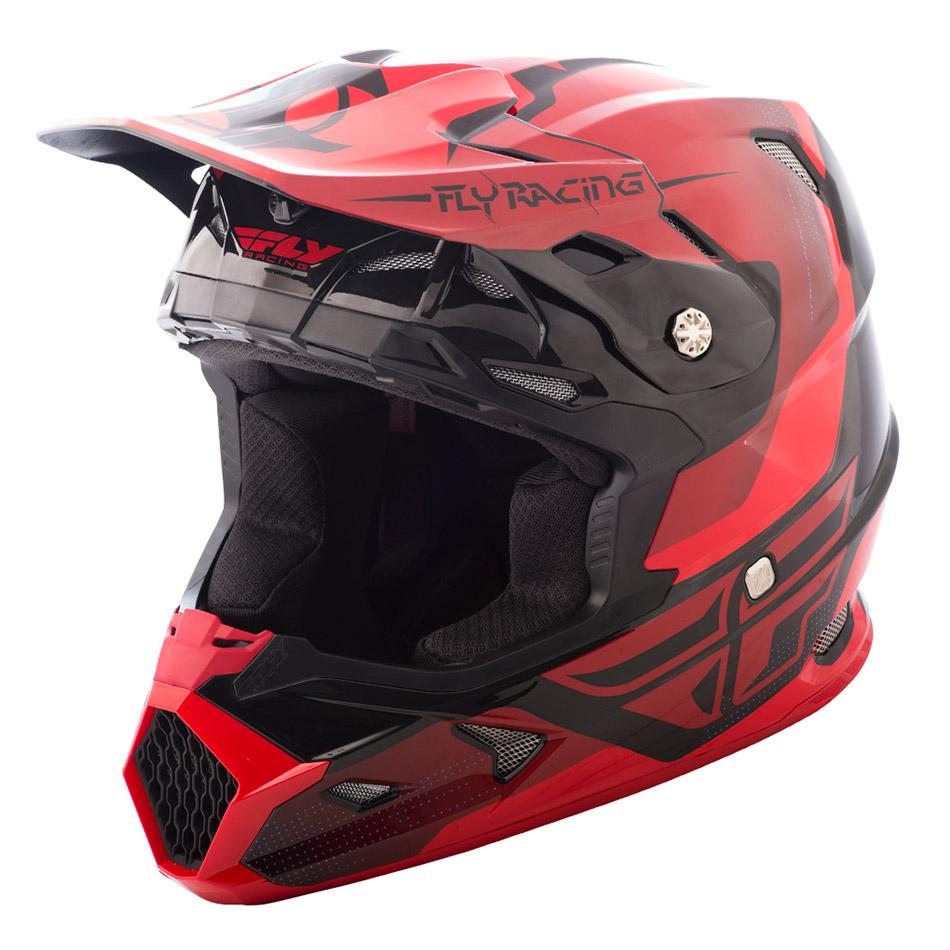 Fly - 2018 Toxin Original шлем, красно-черный