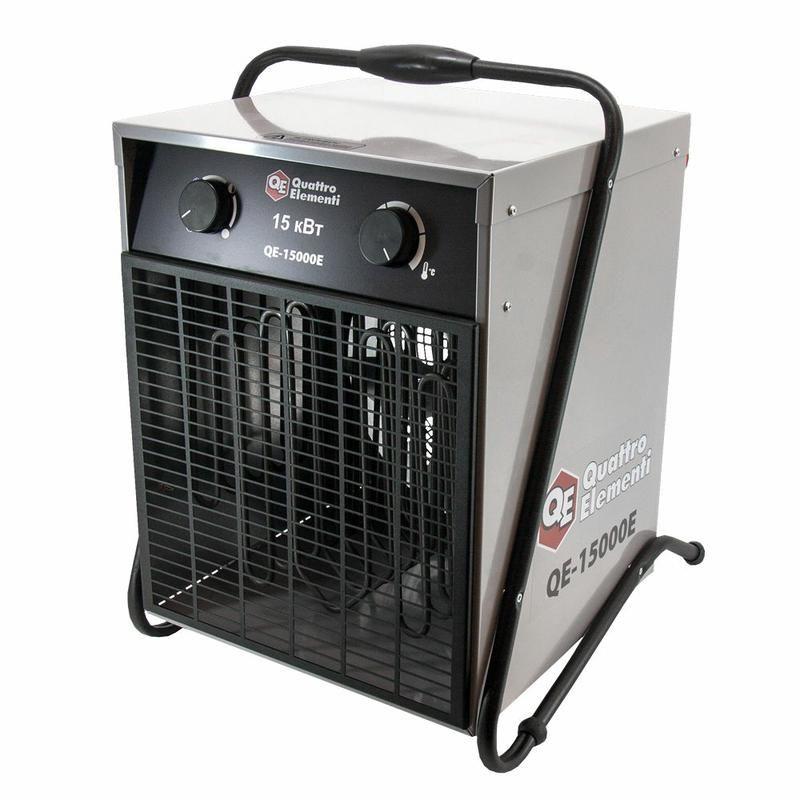 Нагреватель воздуха электрический QUATTRO ELEMENTI QE-15000 E