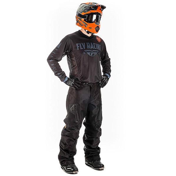 Fly - 2018 Patrol Overboot комплект джерси и штаны, черный