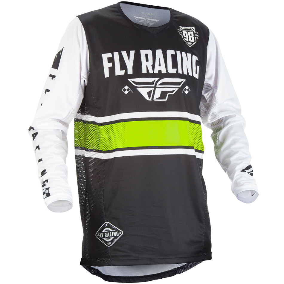 Fly - 2018 Kinetic Era джерси, черно-белое
