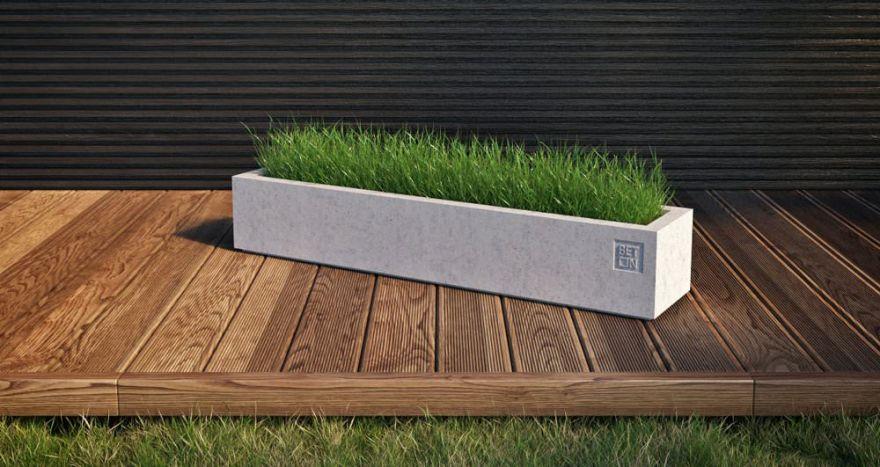 Горшок из бетона 2
