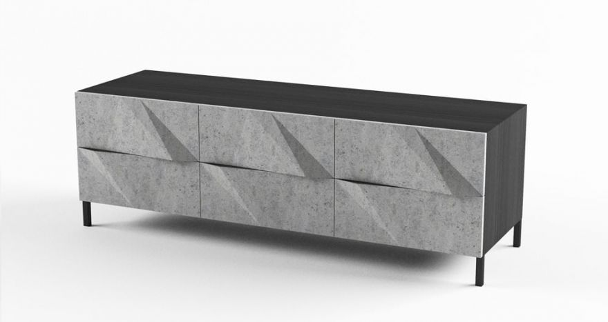 Комод из бетона
