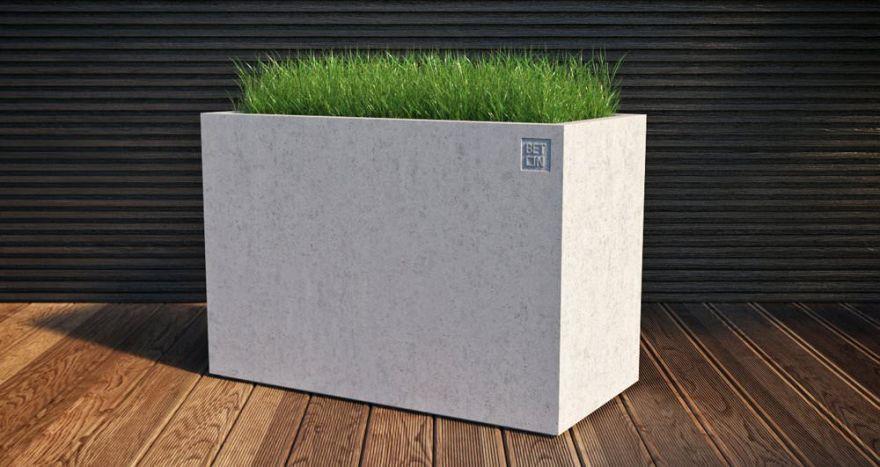 Горшок из бетона 8