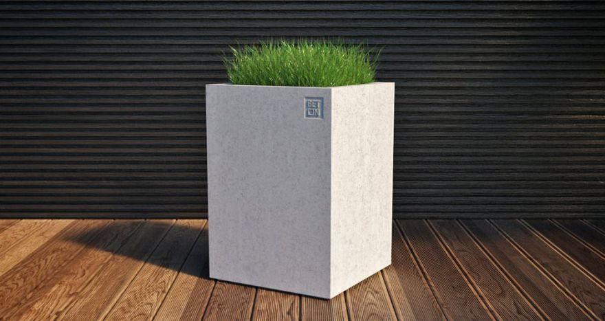 Горшок из бетона 5
