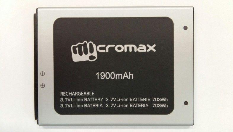 Аккумулятор Micromax D340 Bolt Оригинал