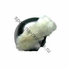 Silver White Fur нашлемник