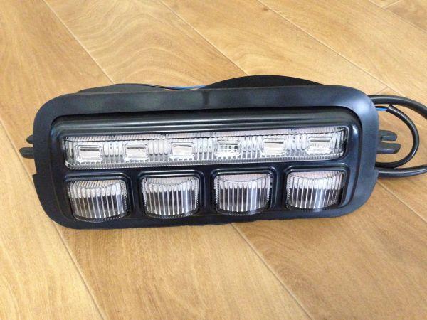 Светодиодные ходовые огни с поворотником на ВАЗ Нива (подфарники)