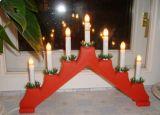 Рождественская горка 7 свечей