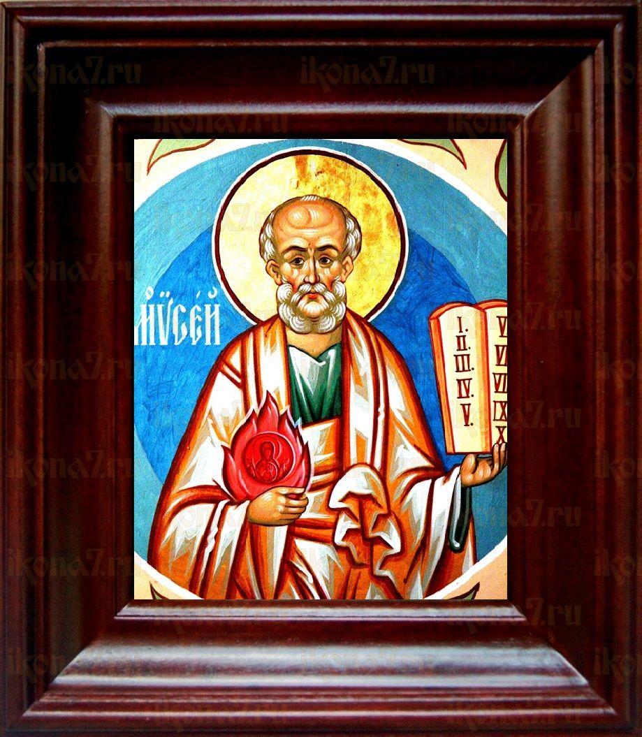 Моисей, пророк (21х24), простой киот