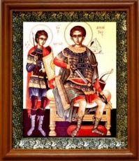 Нестор Солунский (19х22), светлый киот