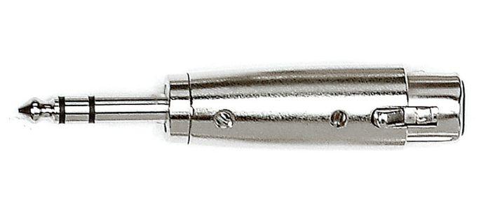 KIRLIN X-3121 Переходник XLR3-мама <-> джек папа стерео