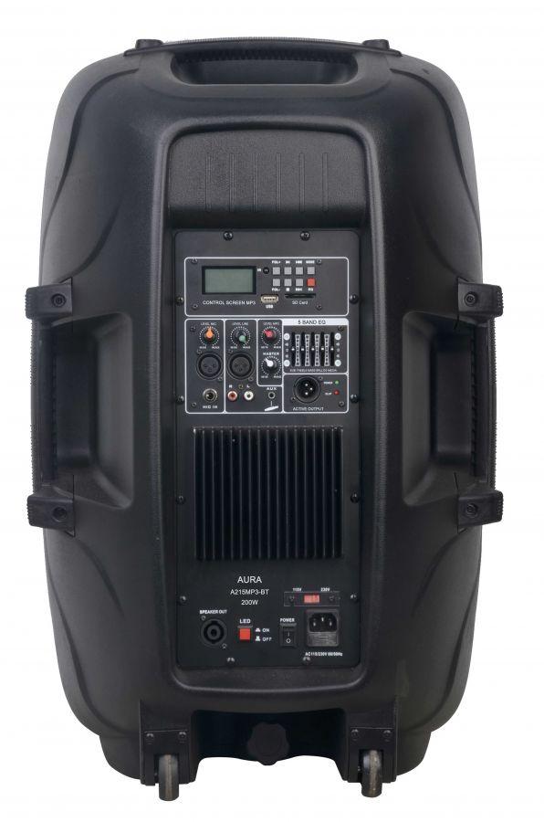 AURA A215MP3-BT Активная акустическая система 200Вт