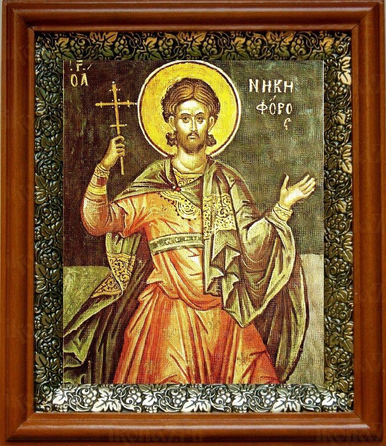 Никифор Антиохийский (19х22), светлый киот