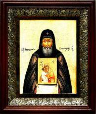 Никодим Кожеезерский (19х22), темный киот