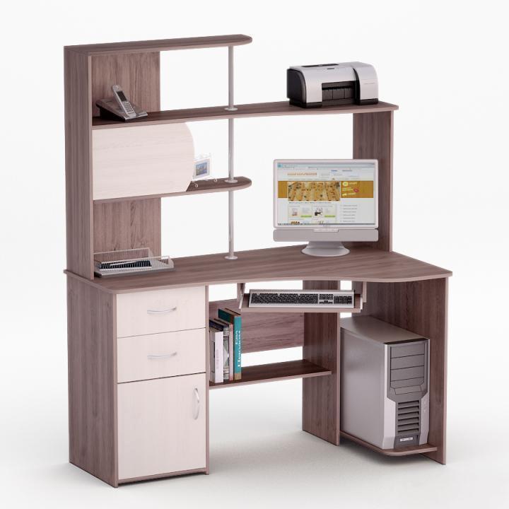 Угловой компьютерный стол Роберт-28