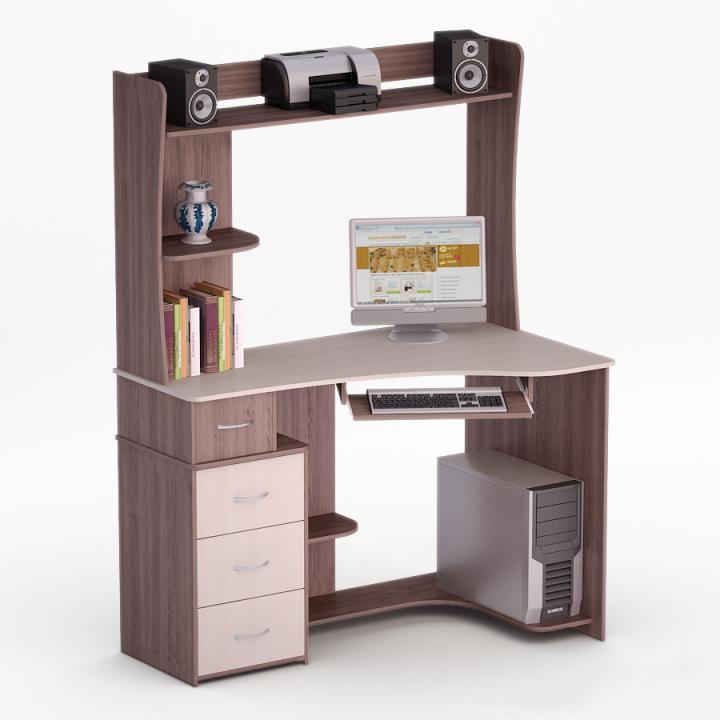 Угловой компьютерный стол Роберт-27