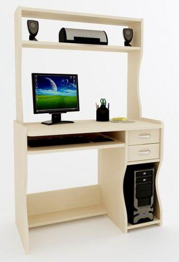Компьютерный стол Арон-4 с надставкой