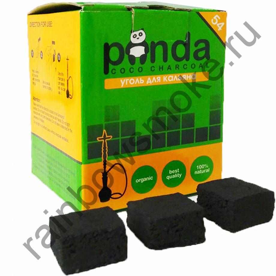 Уголь для кальяна Panda Green Flat (54 шт)